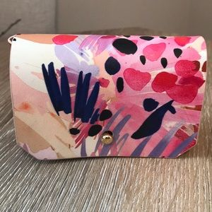 Anthropologie Patterned Card Pouch